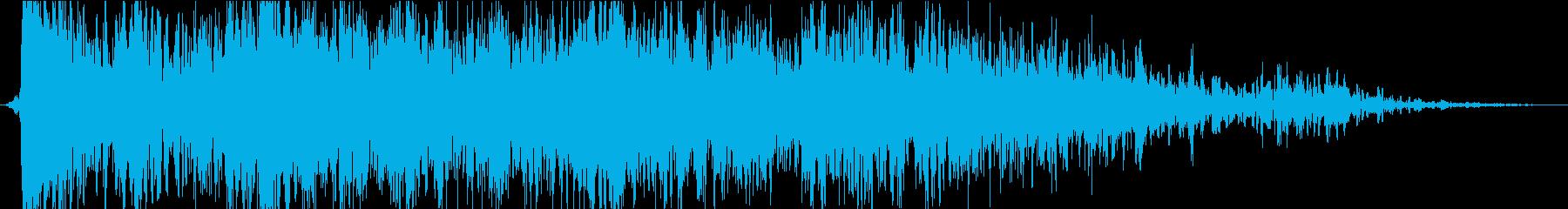 雷07の再生済みの波形
