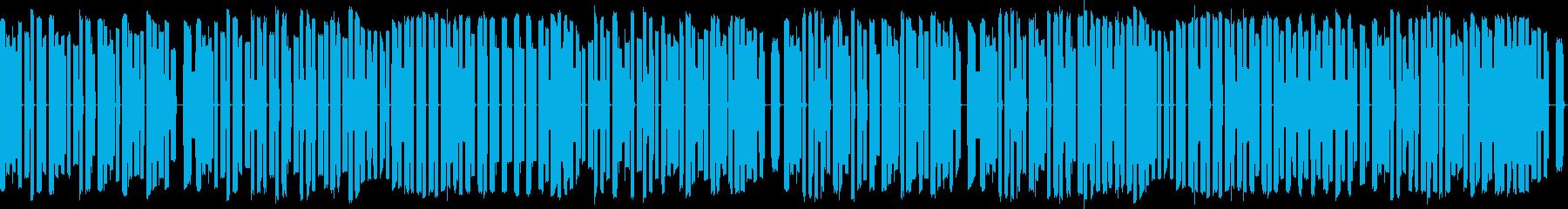 FC風音源による「一月一日」ですの再生済みの波形