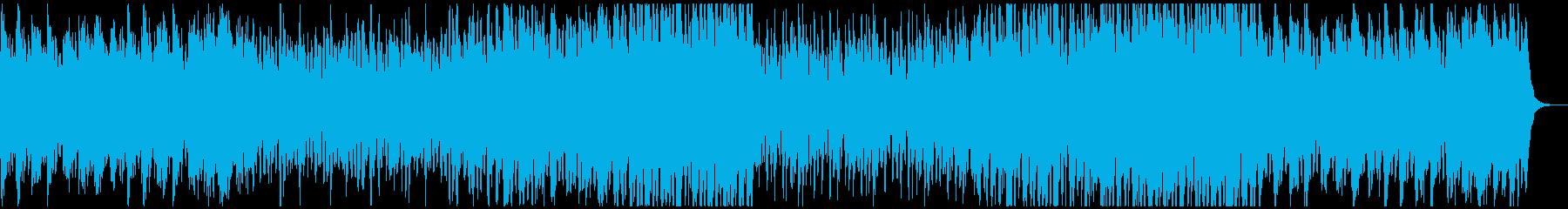なんでもできそうな気がする前向きなBGMの再生済みの波形