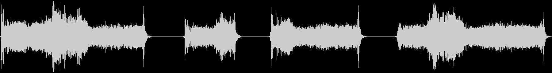 電気モーター;リフト2; 4つの大...の未再生の波形