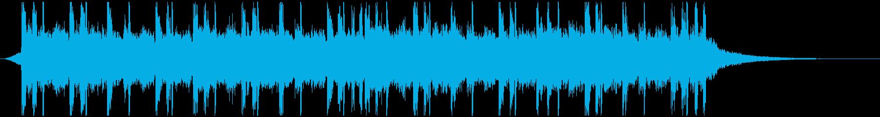 CM30秒/おしゃれ/チル/ヒップホップの再生済みの波形