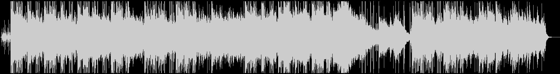 アコースティック、チル系ヒップホップの未再生の波形