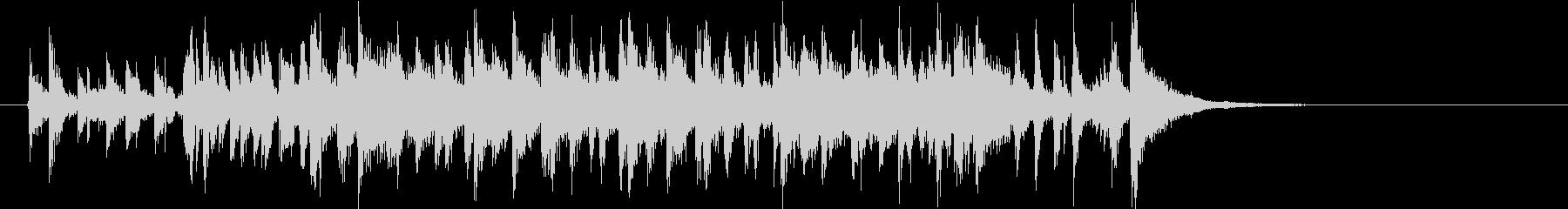 懐かしい雰囲気のオシャレなレトロポップの未再生の波形
