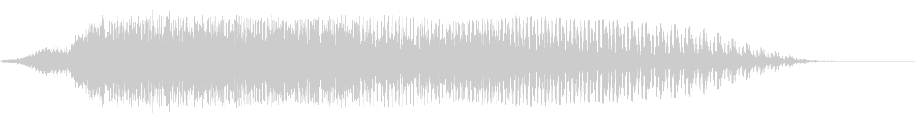 ブゥーーン(シンプルな飛行音)の未再生の波形