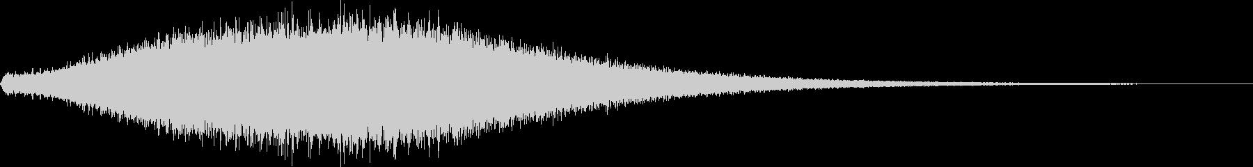 【ホラー】 サウンドスケープ ダークの未再生の波形
