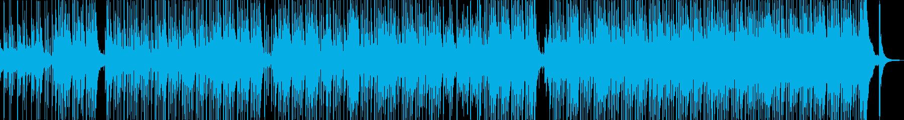 元気づける 滑稽 レトロ  音楽の再生済みの波形