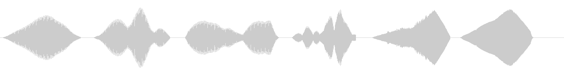 SWEEP、FREQ、CHOP、S...の未再生の波形