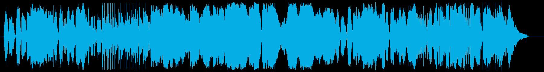 明るくちょっと切ない鍵盤ハーモニカBGMの再生済みの波形