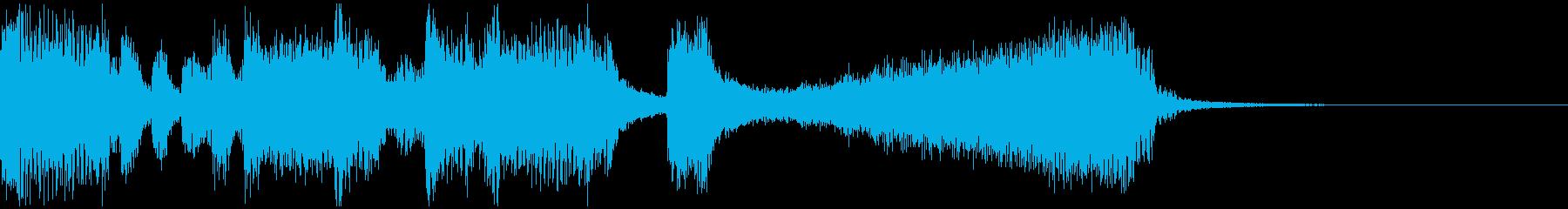 ゲーム等のリザルト画面用BGMの再生済みの波形
