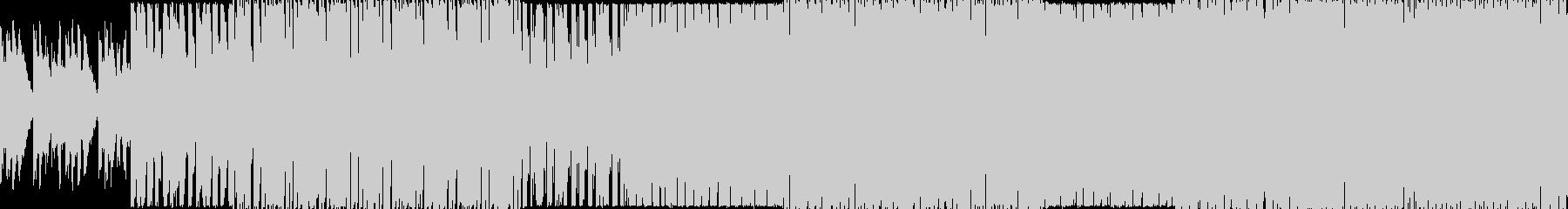 レトロなFMシンセサウンドで作成したテ…の未再生の波形