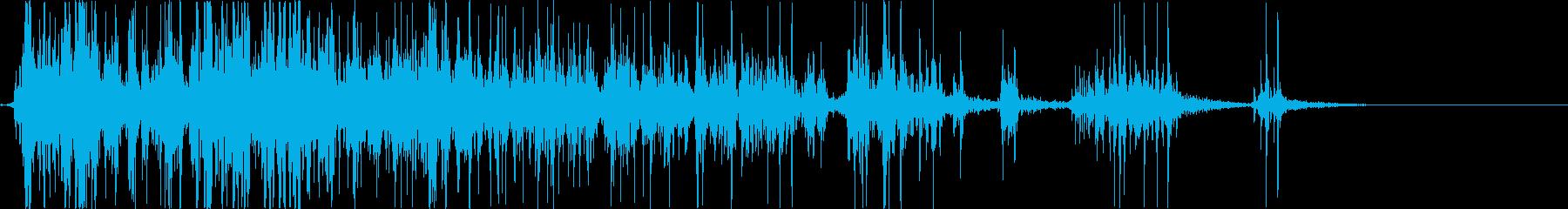 ウーピークッション:オナラ、さまざま。の再生済みの波形