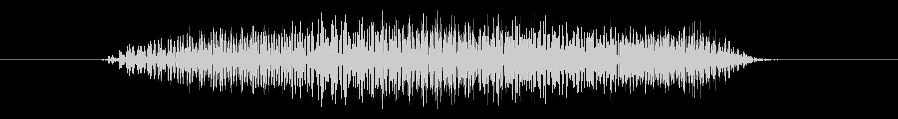 鳥 バードレイヴン02の未再生の波形