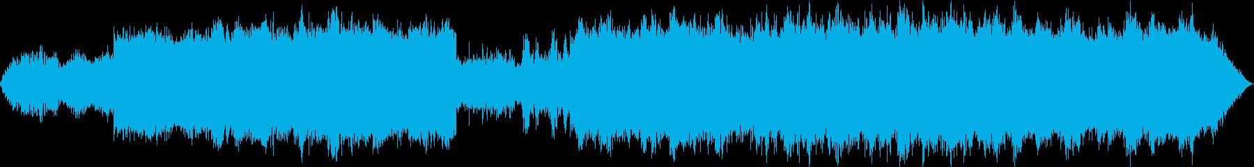ゆったりとした浮遊感のあるエレクトロニカの再生済みの波形