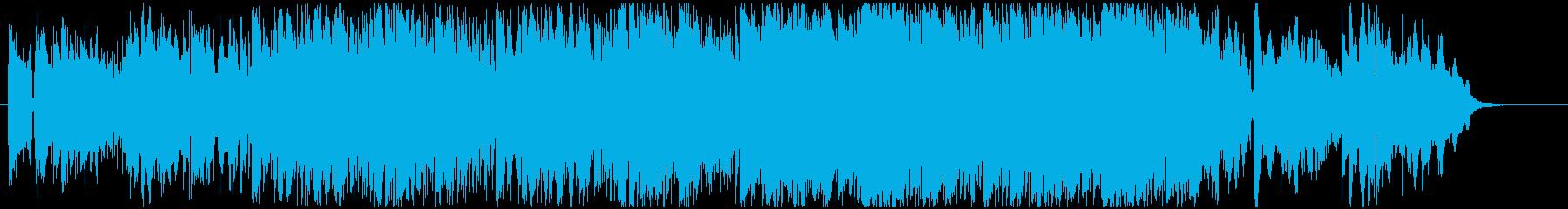 エレピ、ボコーダーの緩急あるヒップホップの再生済みの波形