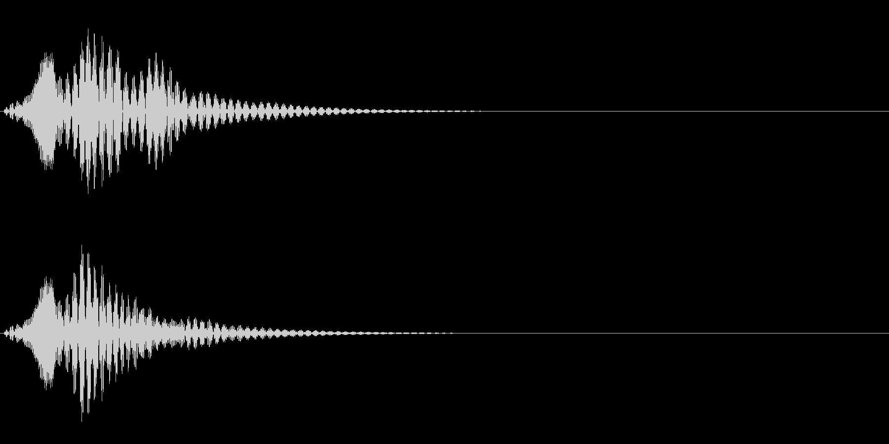 ボワン(状態異常回復・アイテム使用の音)の未再生の波形