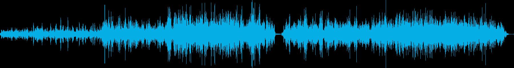 水タンクスプラッシュハル泡アップサイドの再生済みの波形