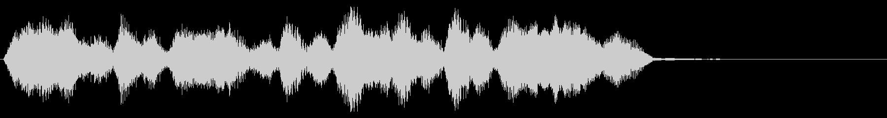 リザルト画面などの未再生の波形