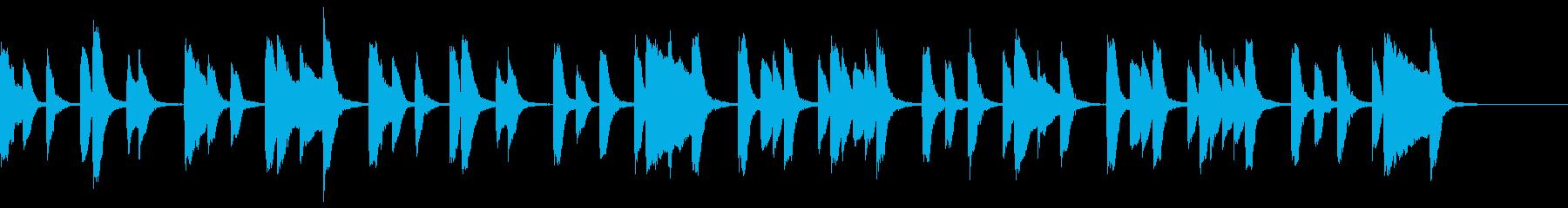 知育・料理・パズル・日常ピアノ19Aの再生済みの波形