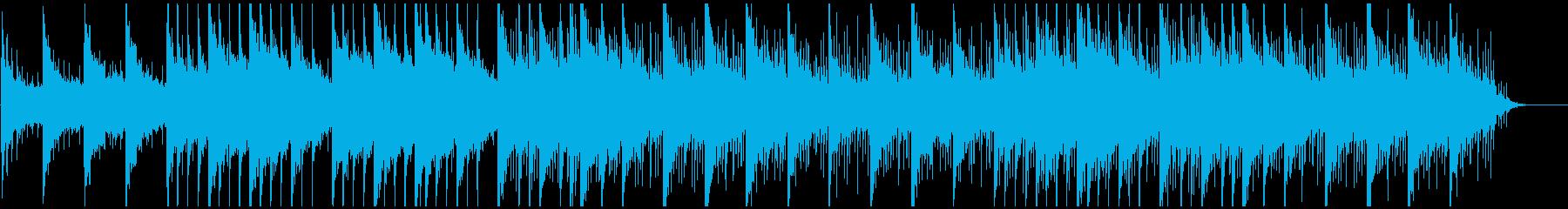 ピアノ癒しヒーリング しっとりと感動的の再生済みの波形