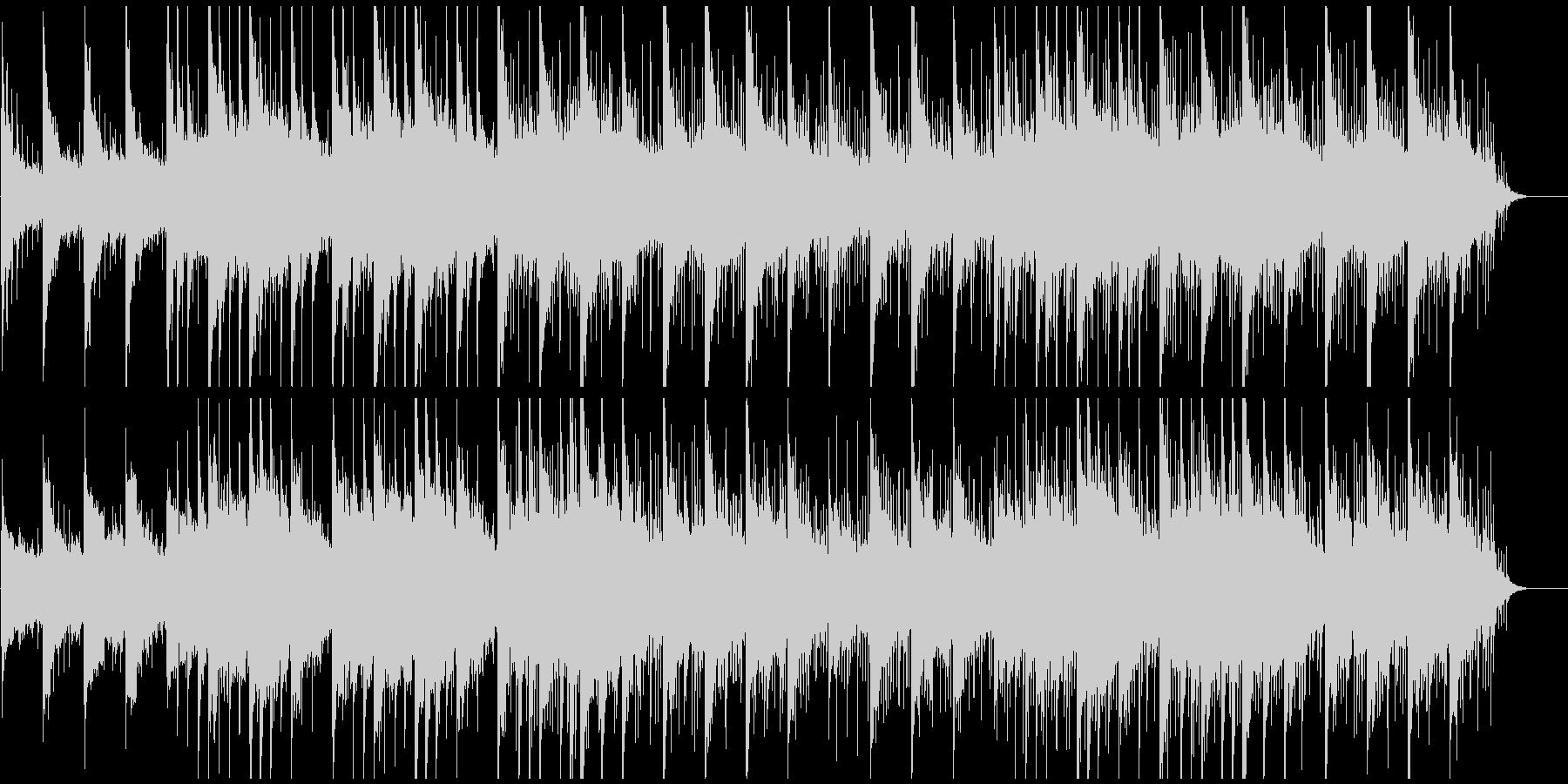 ピアノ癒しヒーリング しっとりと感動的の未再生の波形
