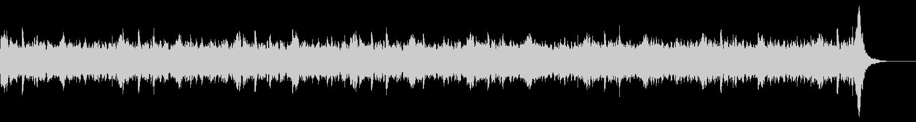 作業用の環境音楽BGMの未再生の波形