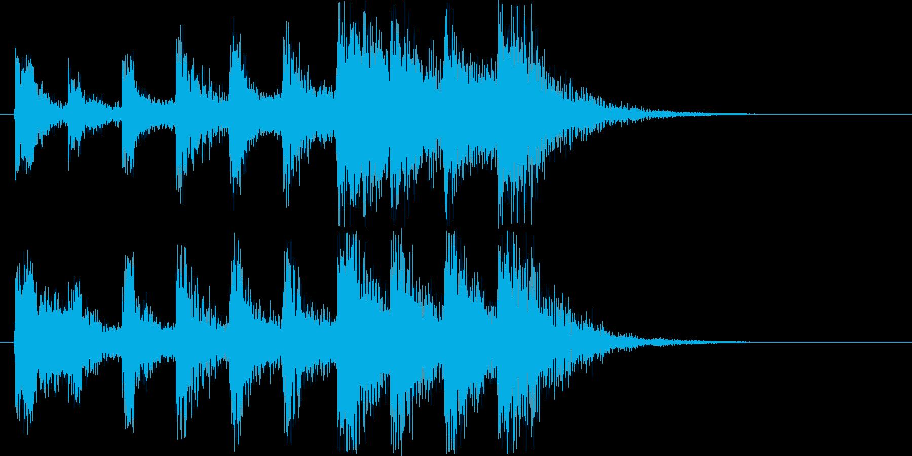 摩訶不思議、不安を煽るテクノ・ショートの再生済みの波形