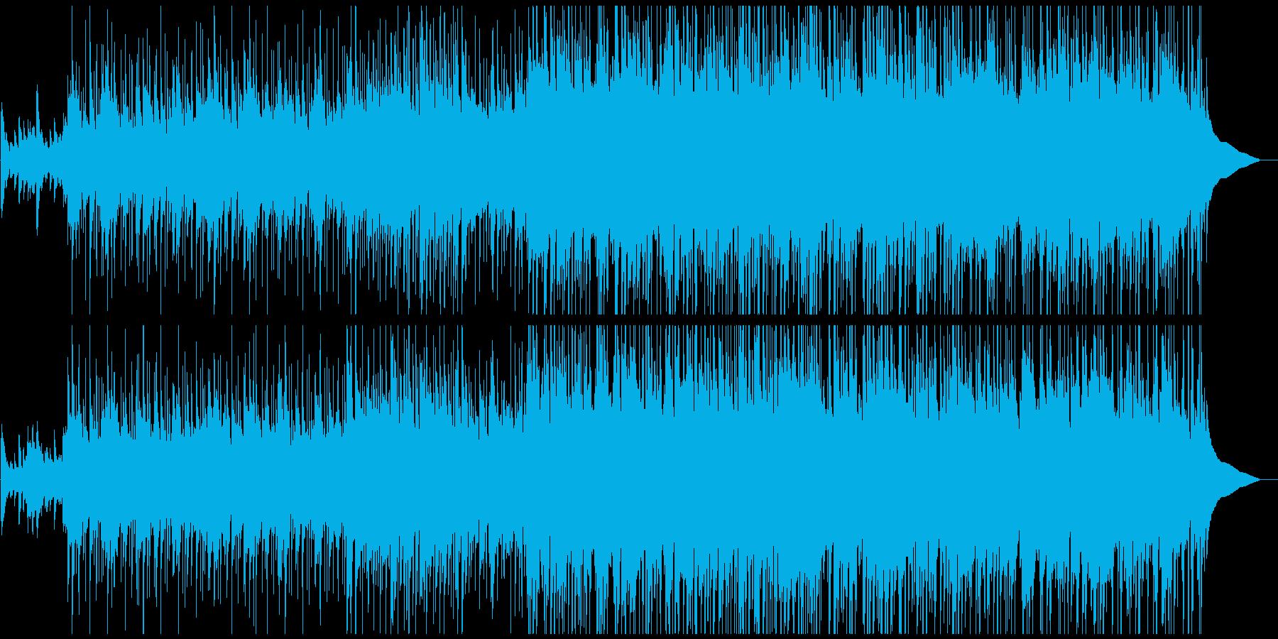 美しく温かい、ノスタルジックなアコギ曲の再生済みの波形