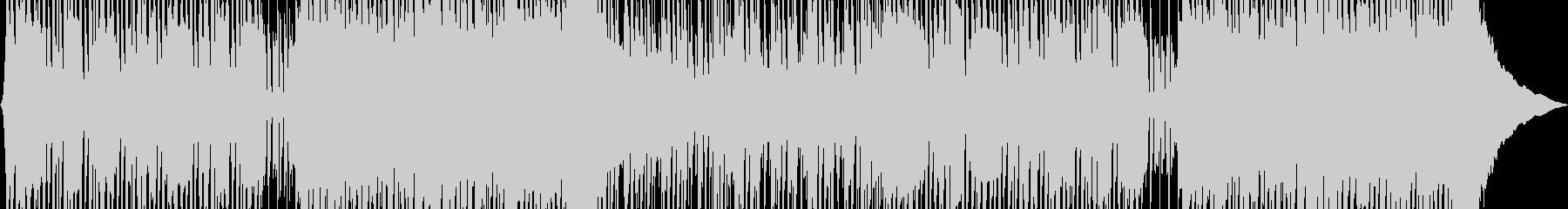 エネルギッシュなハッピーロックミュージッの未再生の波形