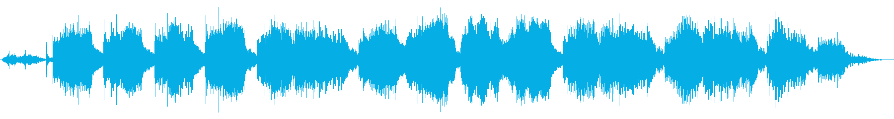 和風着物ウェディング系感動的アンビエントの再生済みの波形