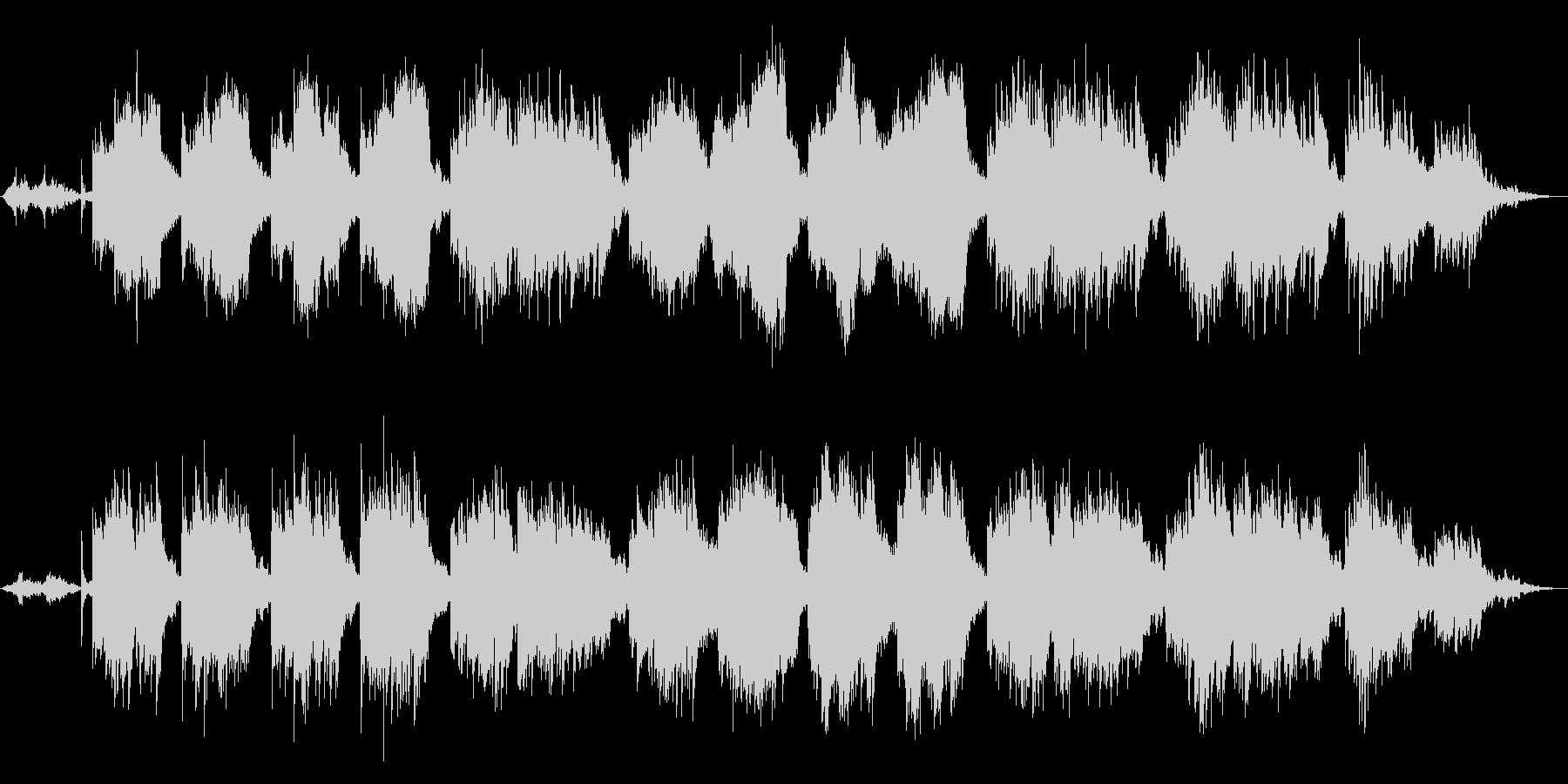 和風着物ウェディング系感動的アンビエントの未再生の波形