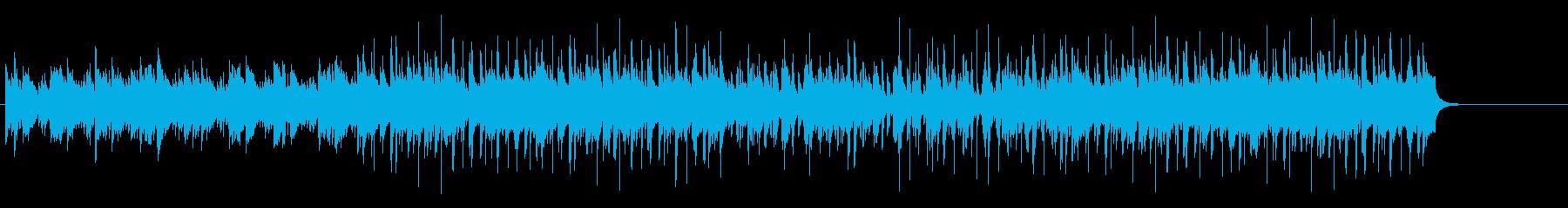 爽やかナチュラルアコースティックサウンドの再生済みの波形