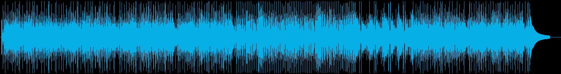 可愛い軽快ウクレレと口笛ポップ♪の再生済みの波形