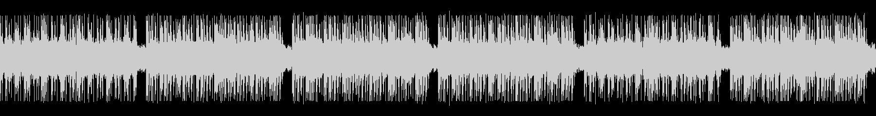 ゲーム映画バトル用攻撃的2-2ループ処理の未再生の波形