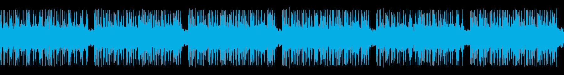 ゲーム映画バトル用攻撃的2-2ループ処理の再生済みの波形