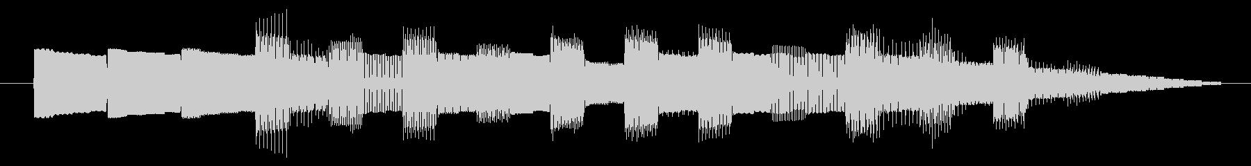 GB風アクションゲームのジングルの未再生の波形