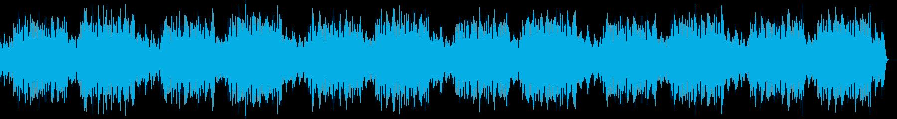 チルアウト、lofiヒップホップの再生済みの波形