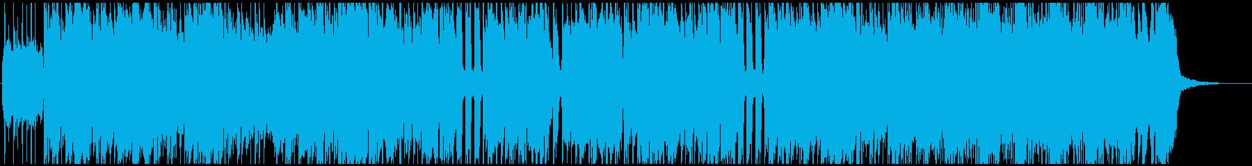 のりのりシンプルなロックギターロックの再生済みの波形