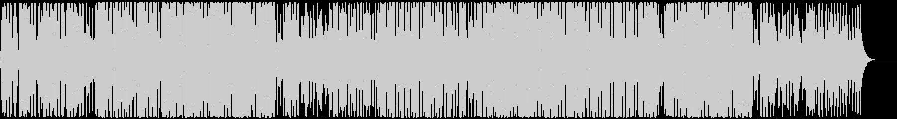 明るく前向きで軽やかなハウス CM・映像の未再生の波形