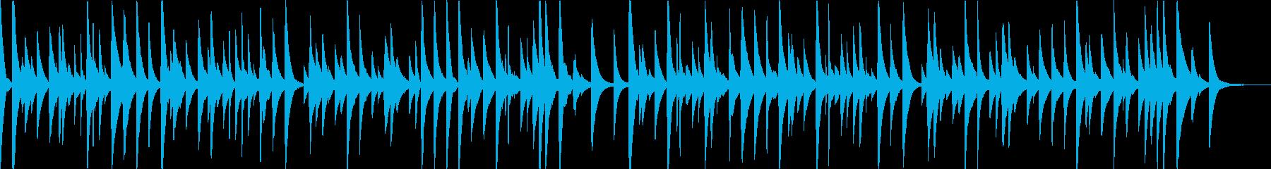もみの木(オルゴール)の再生済みの波形