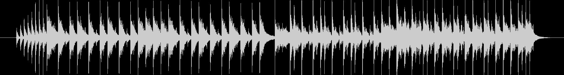 15秒のジングルとして制作した楽曲です。の未再生の波形