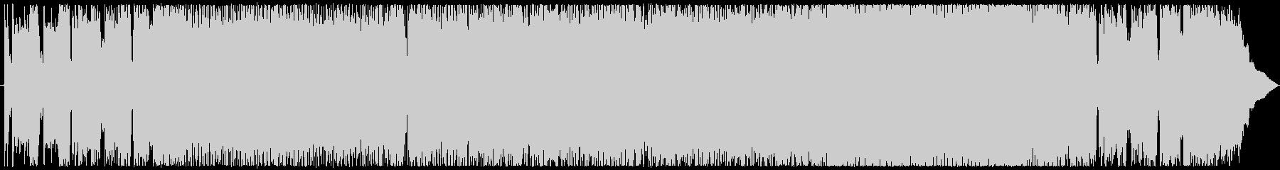 [生演奏]和風メロディックスピードメタルの未再生の波形