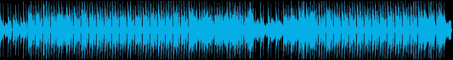 Lo-Fiビートのメロウで都会的チルの再生済みの波形
