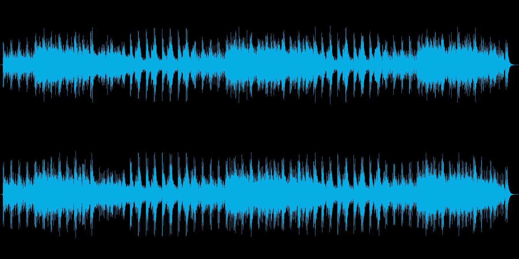 中東風のアンビエントミュージックの再生済みの波形