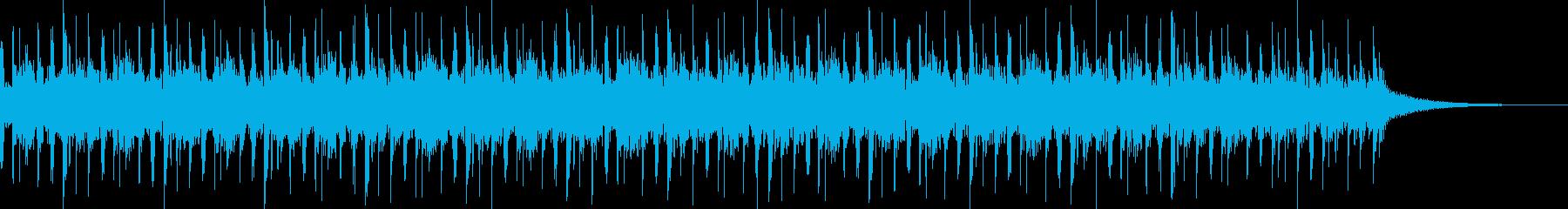 旅 温泉 城下町 ユルい壮大テクノポップの再生済みの波形