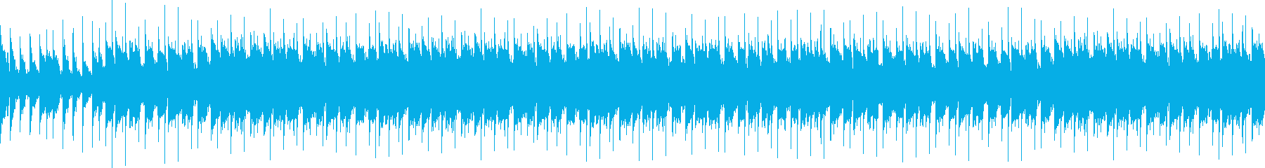 トロピカルで幻想的で軽快なループの再生済みの波形