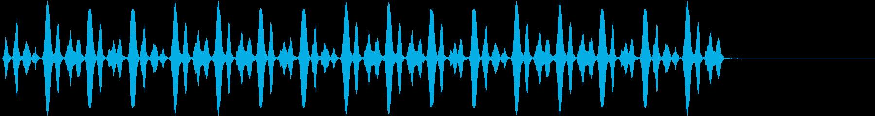 フルート:ファニーホースギャロップ...の再生済みの波形