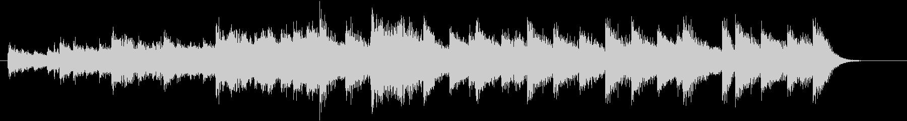 もろびとこぞりてモチーフピアノジングルEの未再生の波形