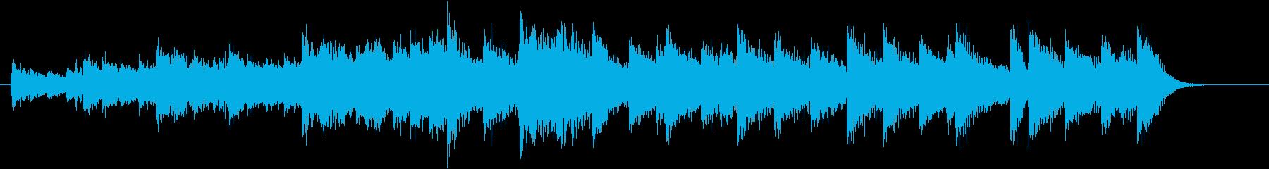 もろびとこぞりてモチーフピアノジングルEの再生済みの波形