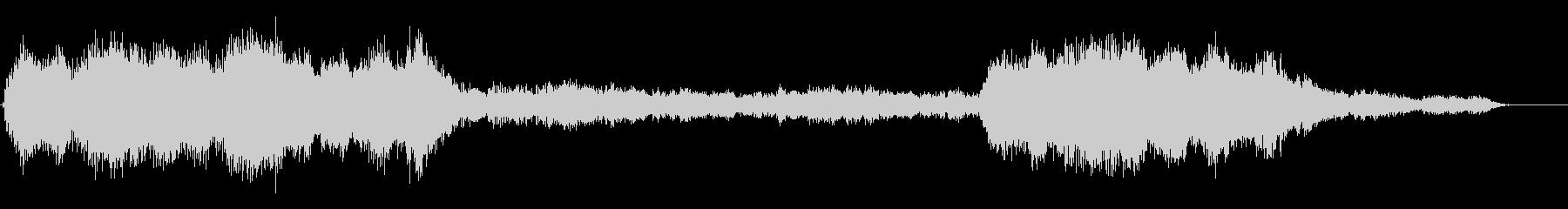 深く真白い朝 フルート+弦楽風2分12秒の未再生の波形