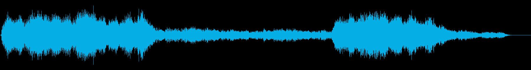 深く真白い朝 フルート+弦楽風2分12秒の再生済みの波形